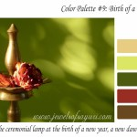 January color palette – Birth of a New Dawn