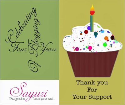 Its Blogoversary - four years of blogging