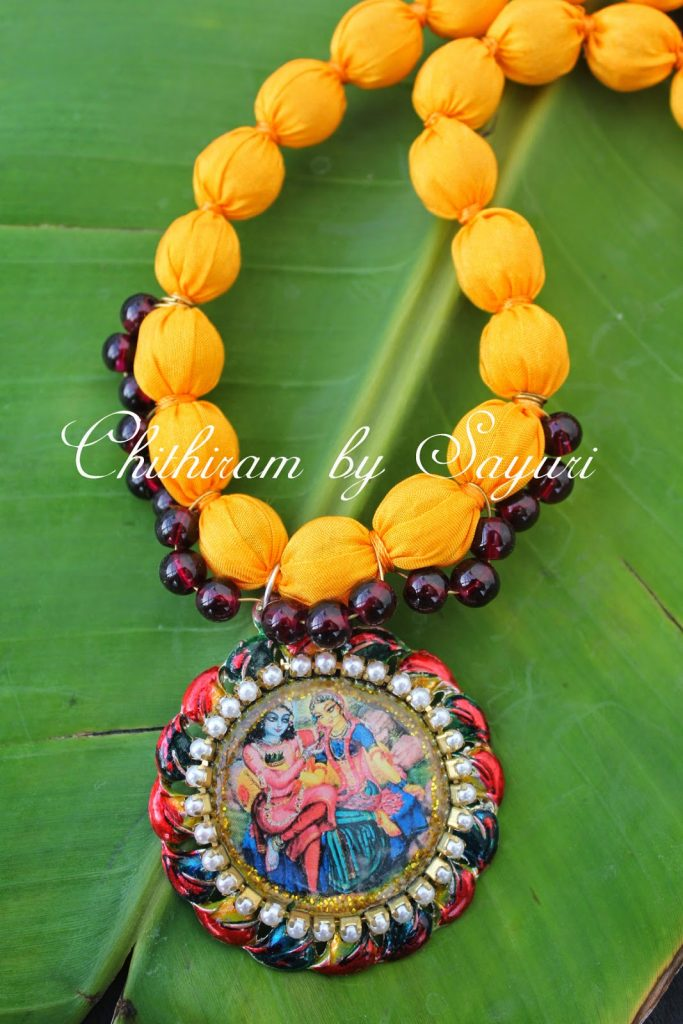 Creating Fabric jewelry - a guest post | Jewels of sayuri