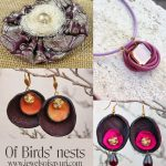 Birds nests jewelry and Mothers Day