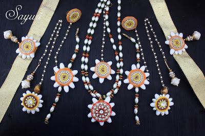 Jasmine jewellery for weddings