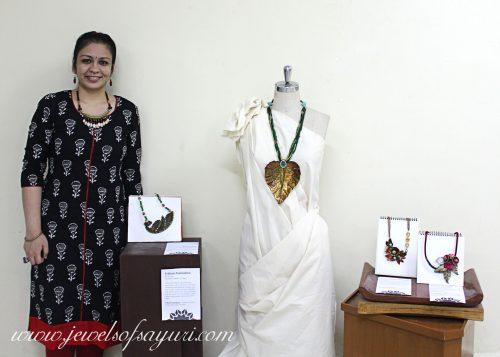 Exhibition of sayuri jewelry