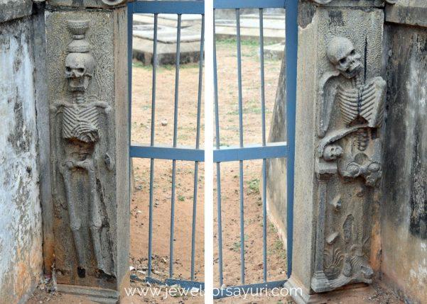 Dutch cemetery pulicat