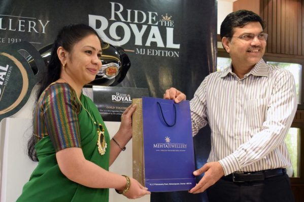 mehta jewelry ride the royal contest prize distribution ceremony (1)