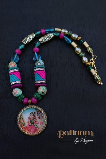 Andal necklace - Of Andal and Srivilliputtur