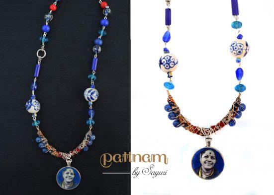 Ms Subbhulakshmi necklace