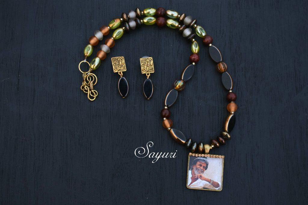 Rajini necklace - tribute to Rajinikanth