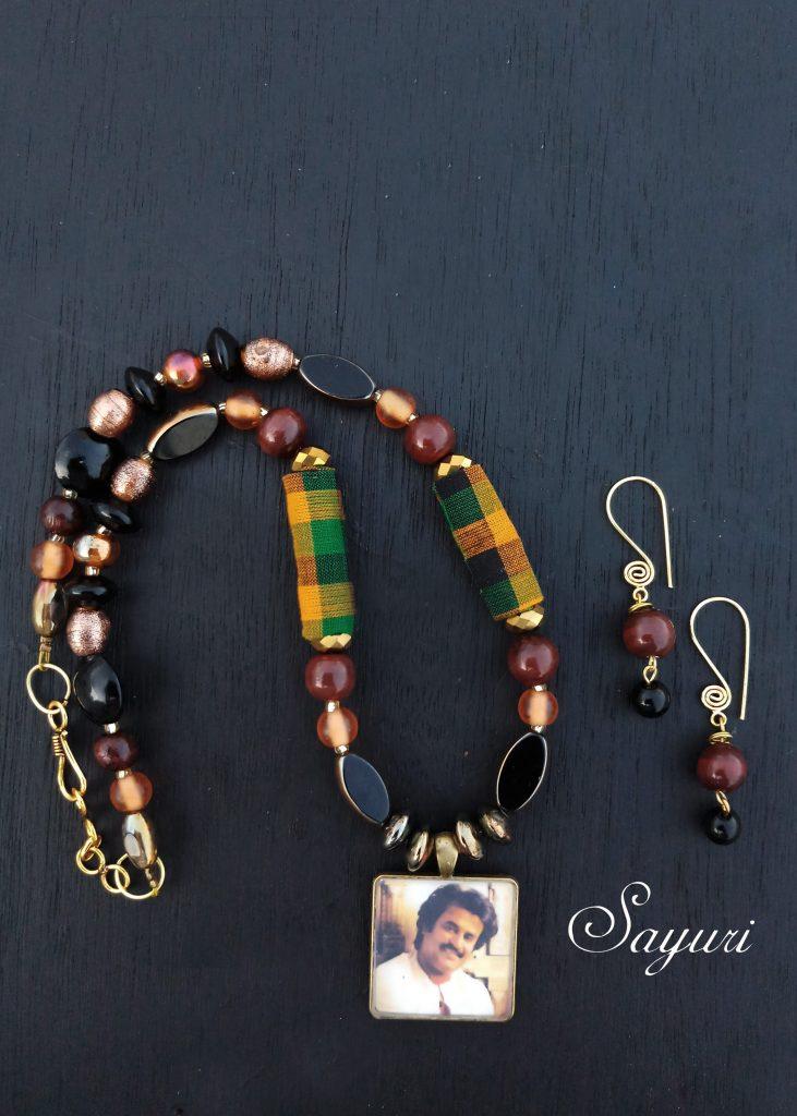 rajinikanth necklace - sold