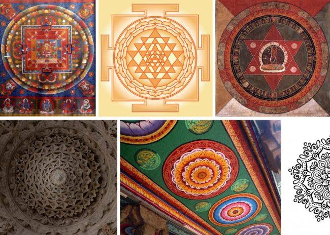 types of mandalas