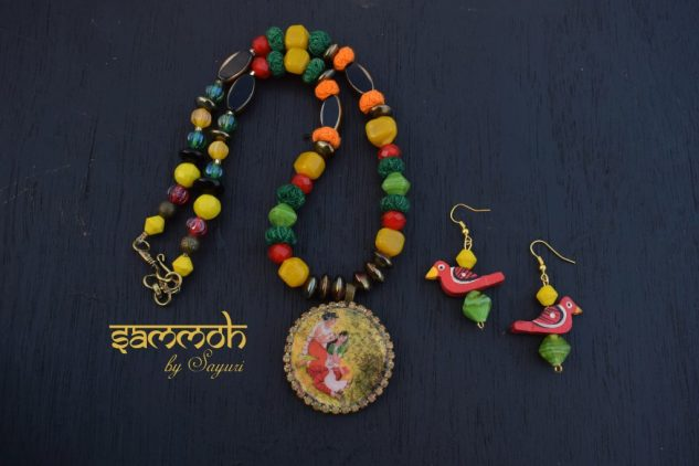 nala damayanthi necklace