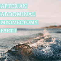 After an Abdominal Myomectomy