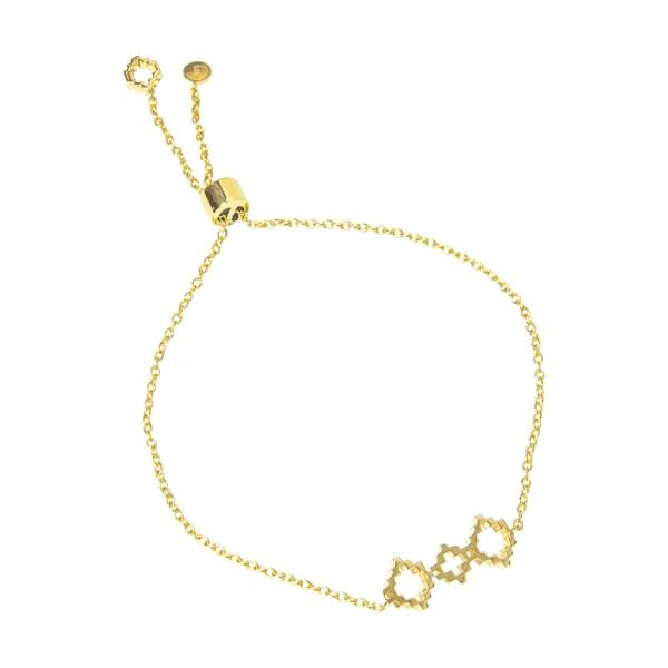 Baori Trinity Silhouette Bracelet