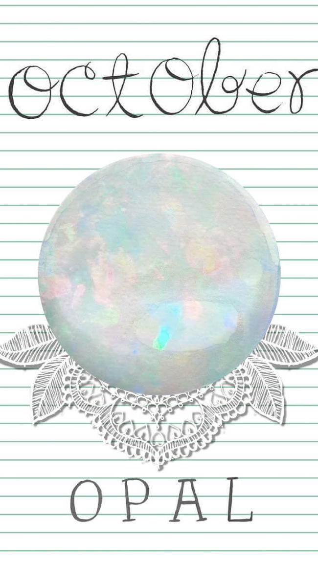 Opal - Stone of the Month for October