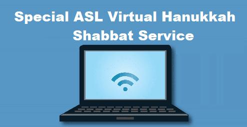 Zoom Shabbat Hanukkah