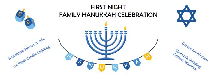 First Night Family Hanukkah Celebration