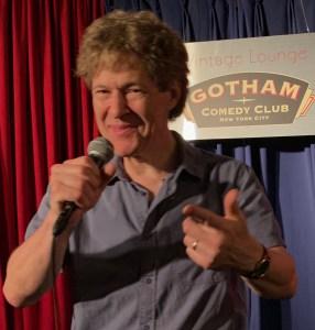 Keni K at the Gotham Comedy Club in July 2019