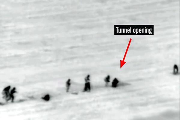IDF Video of Tunnel Attack