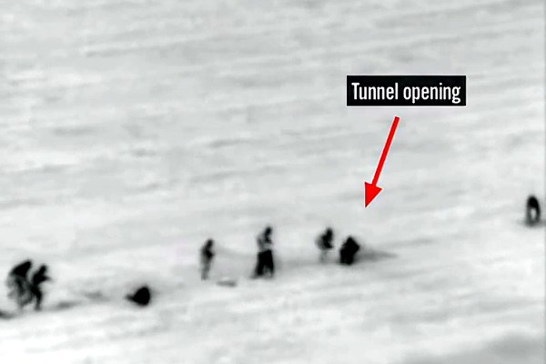IDF Video of Tunnel Attack