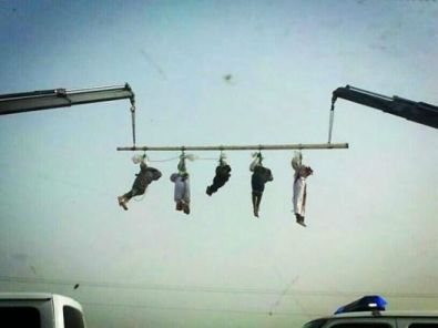 Hamas execution hanging