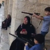 Shocking Video: Mother Teaching Children Terror on the Temple Mount