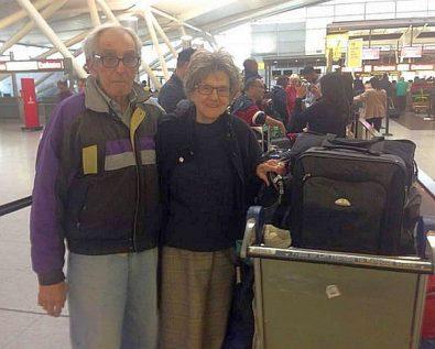 Victor et Nelda Rousso disent que le personnel d'El Al était «très utile» à les faire à la douane à l'aéroport JFK.