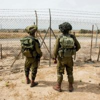 Video: 4 Gazans Infiltrate Into Israel, Damage Anti-Tunnel Construction Equipment