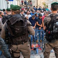 BREAKING: Arabs Attack Israeli Police on Temple Mount