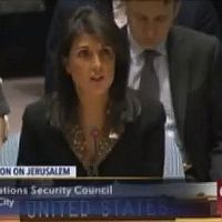 Full Transcript: US Ambassador to the UN Nikki Haley's Remarks After Jerusalem Resolution Veto