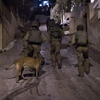 IDF Soldier Receives Critical Head Injury from Marble Slab in Ramallah Refugee Camp