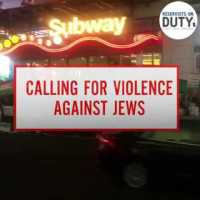 Calls for the Massacre of Jews in New York's Times Square