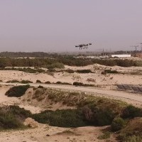 IDF's New Drone Poops on Rioters