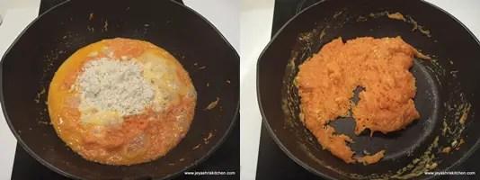 add instant gulab jamun mix
