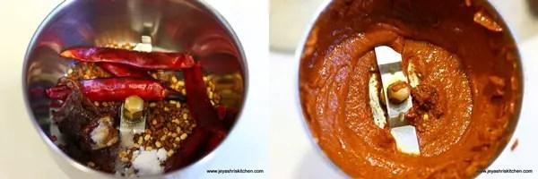 How to make Vendhaya thogayal