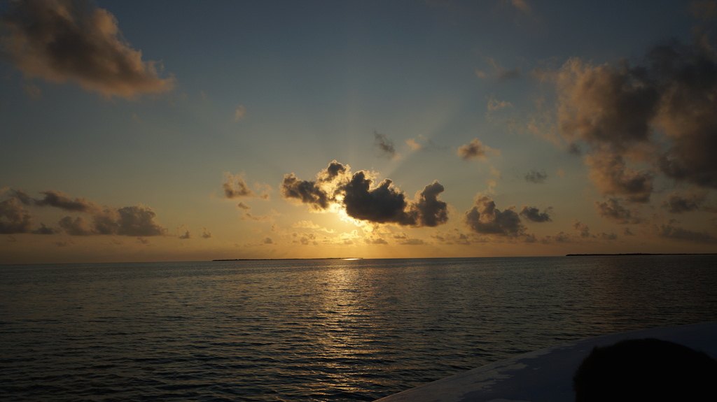 Our day trip to the Blue Hole started with a beautiful sunrise