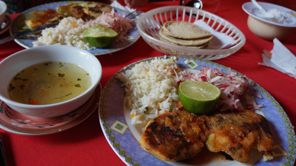 Traditional Guatemalan dish: Chile Rellenos