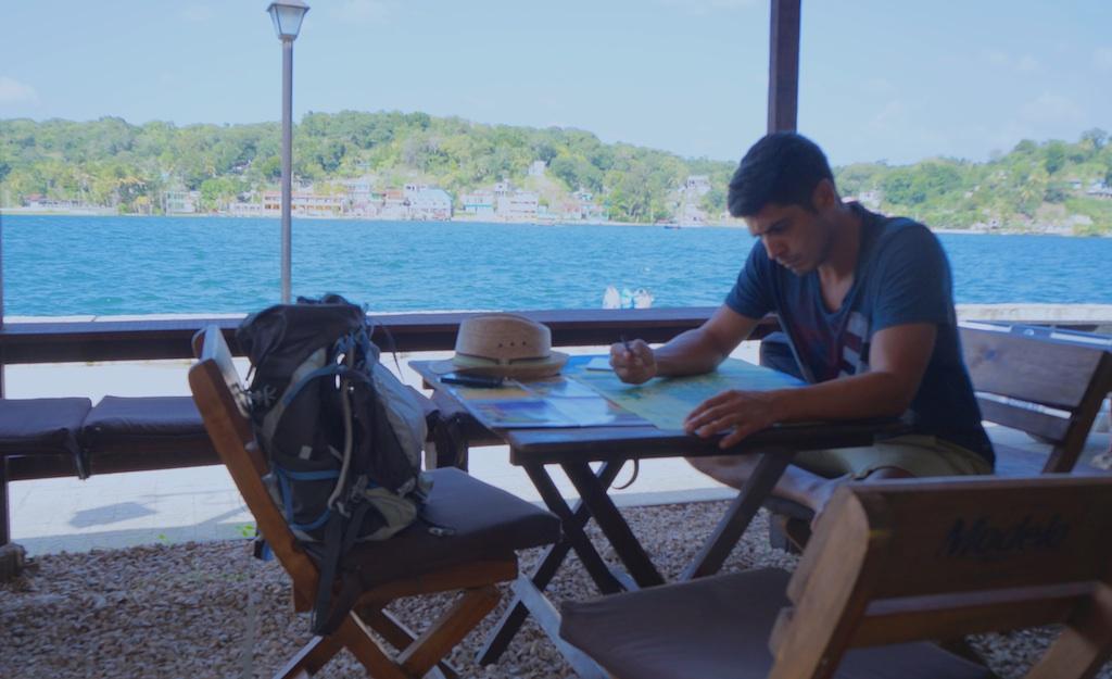 Travel planning in Flores, Lake Peten Itza