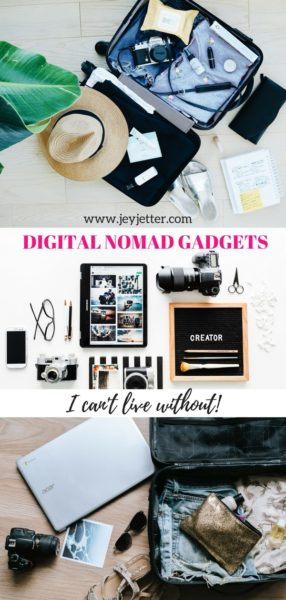 Best digital nomad gadgets I can't live without