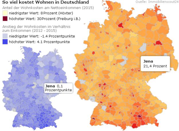 so viel kostet wohnen in deutschland in jena gibt es so. Black Bedroom Furniture Sets. Home Design Ideas