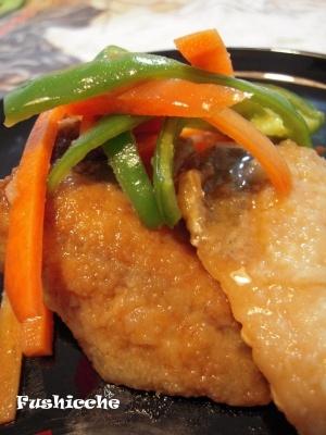 アジの南蛮漬け fish-dish