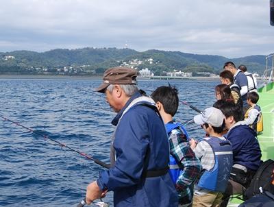 平塚漁港発、親子釣りセミナー