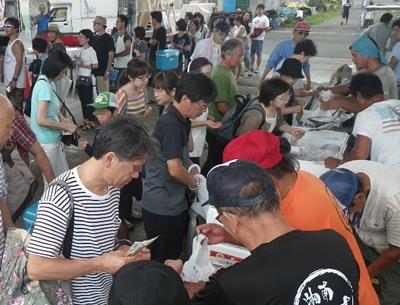 タマ三郎漁港まつり魚直売会イメージ