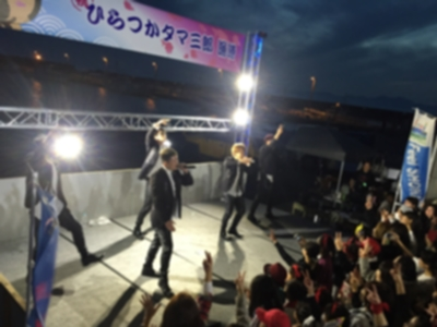 タマ三郎漁港まつりステージイメージ