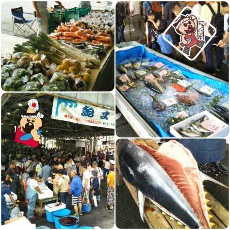 2019.6.2魚まつり朝市様子2