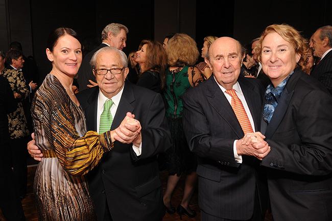 Joyce Newstat, Seymour Newstat, Bill Lowenberg and Susan Lowenberg)