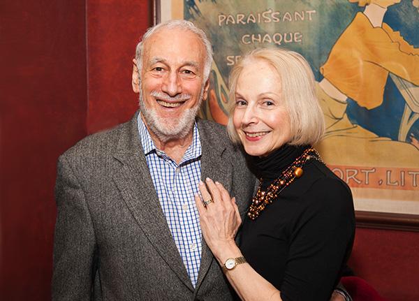 John Sampson and Sharon Litsky