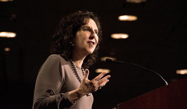 Dr. Anita Friedman addresses audience.