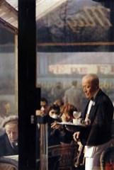 Saul Leiter-Waiter_ Paris, 1959