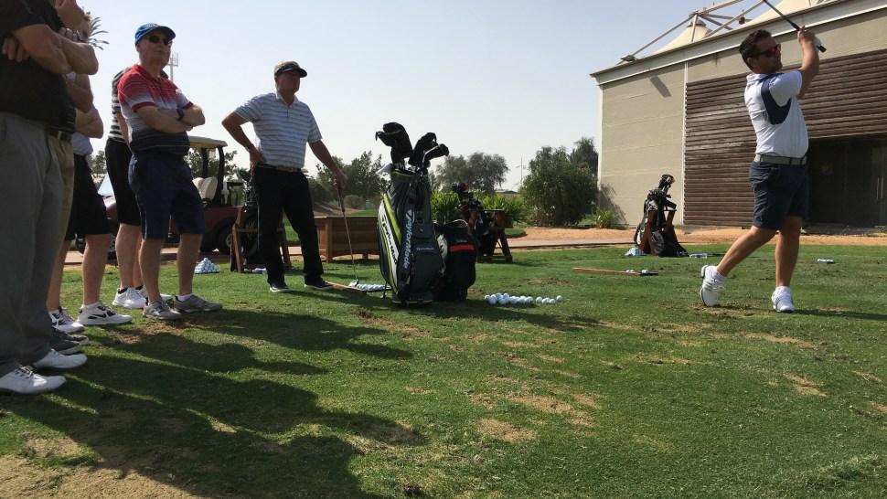 Steve Webster Practice Session