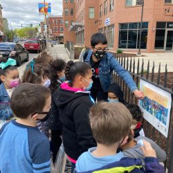 Ms. Coughlan's First Grade Walking Field Trip May 2021