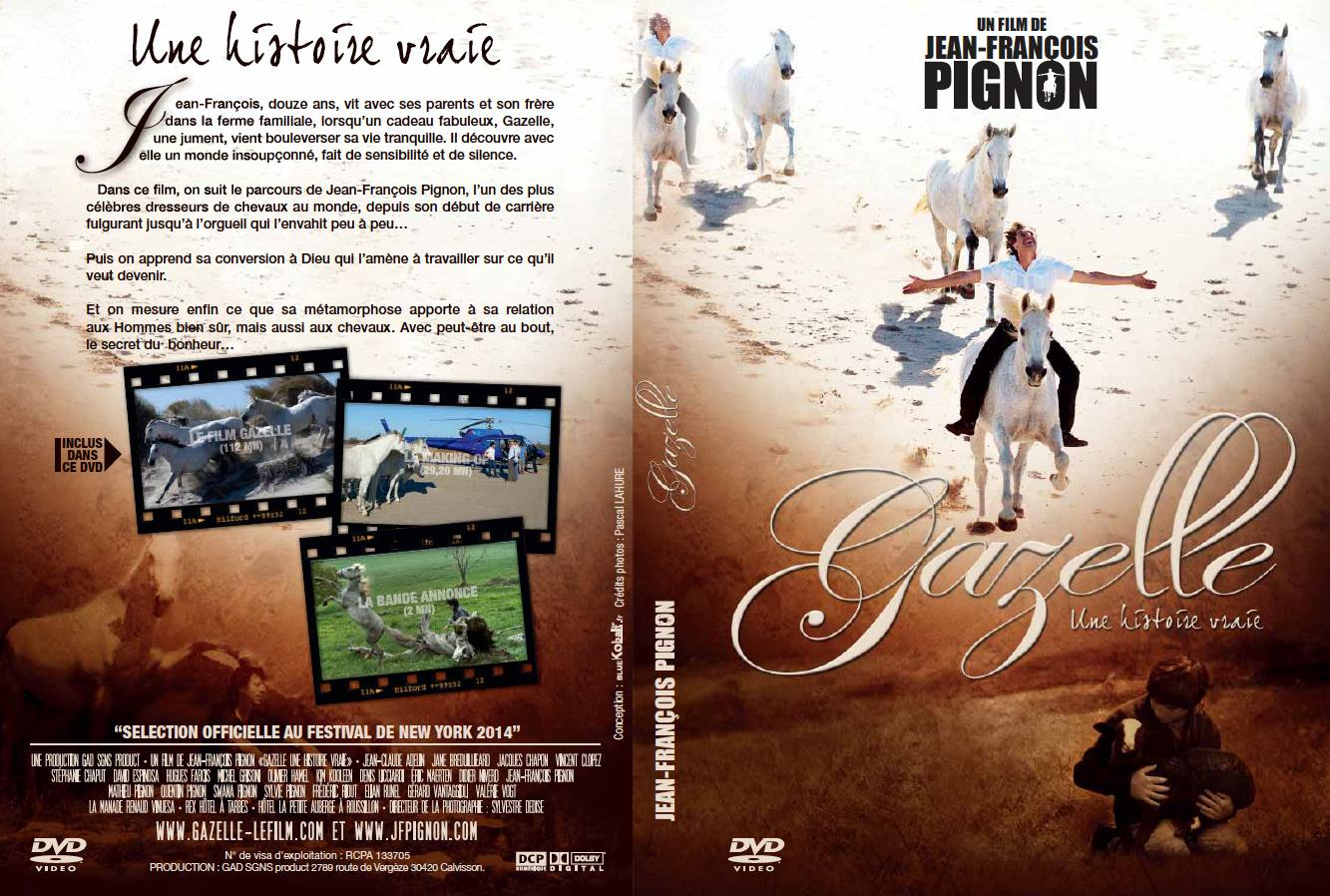 dvd les gazelles